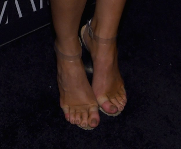 See for yourself. Here's a pic of Kylie Jenner's feet. Sorry.