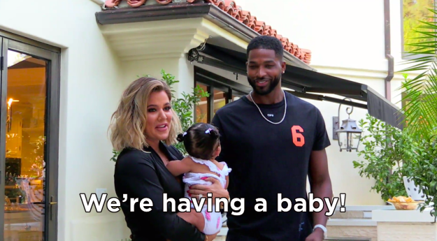 Before Khloé delivered the news.