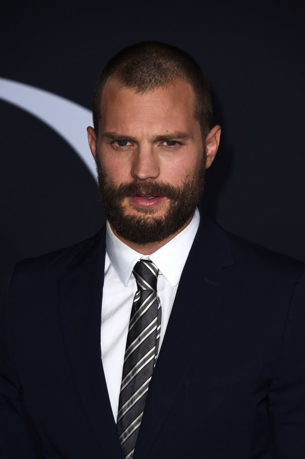 Jamie Dornan is one of the sexiest men alive, fight me.
