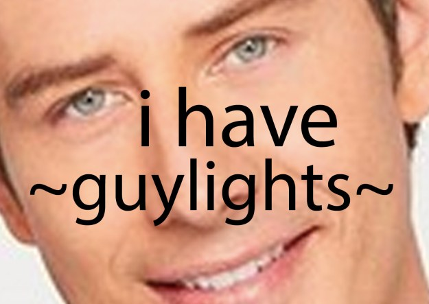THAT'S RIGHT. I believe that Arie Luyendyk Jr. has GUYLIGHTS.
