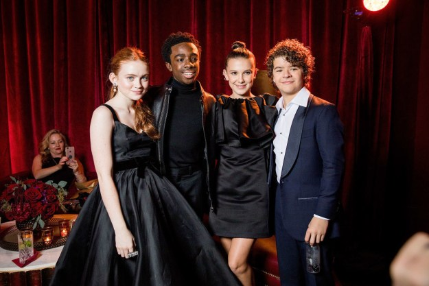 Look, everyone knows the Stranger Things cast wins every red carpet they grace. They've dominated the Golden Globes carpet for two years in a row.