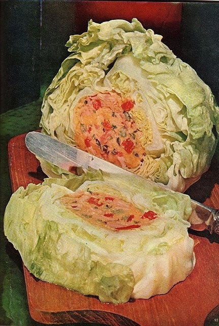 When someone in '70s came up with the concept of a salad surprise.