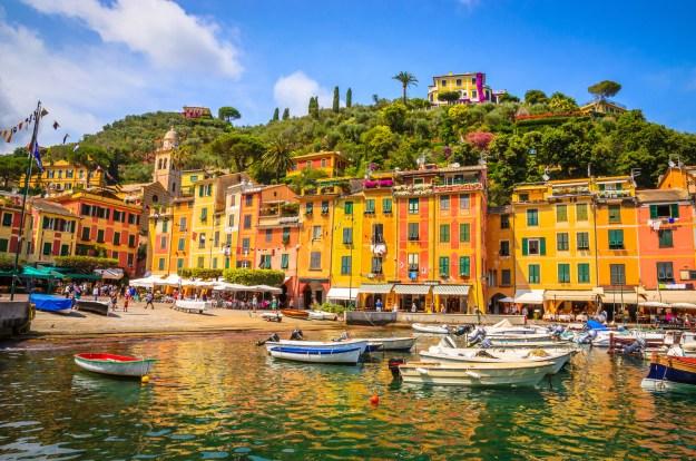 14. Eine andere Welt im norditalienischen Portofino: