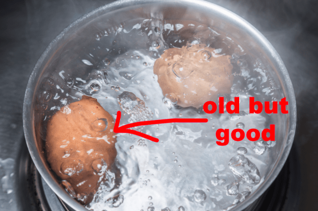 Always use older eggs if possible...