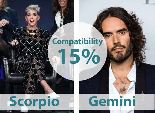 12. Katy Perry & Russell Brand