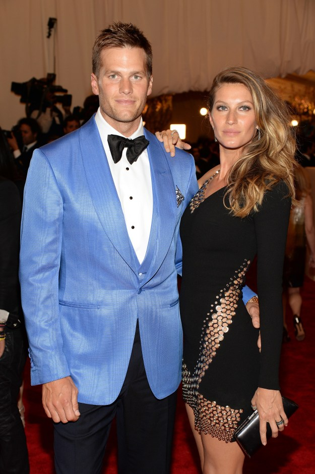 You know Tom Brady. He's the quarterback for the New England Patriots. He's also married to model Gisele Bündchen.