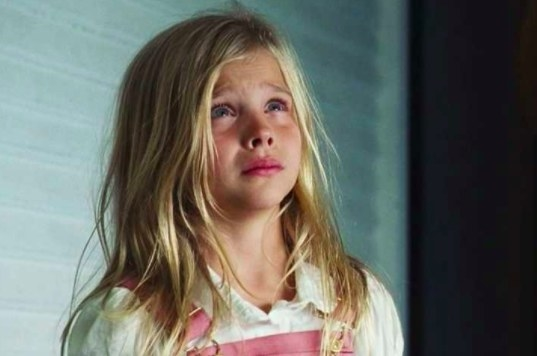 Chloë Grace Moretz played Chelsea Lutz, the youngest of the Lutz family in The Amityville Horror in 2005.