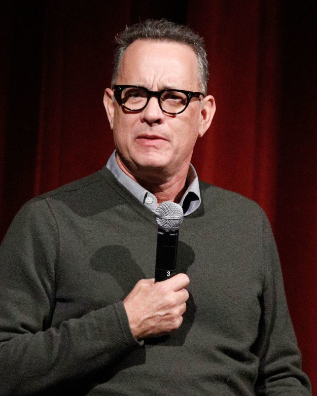 "This is Tom Hanks. He's been called America's dad, the best actor of his generation, and simply, ""a good guy."""