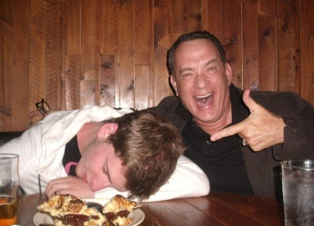 And I don't care if you're a man, woman, non-binary, gay, straight, what have you — Tom Hanks is your celebrity crush now.