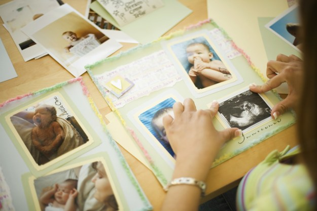 Maybe it's a scrapbook that preserves important family memories.