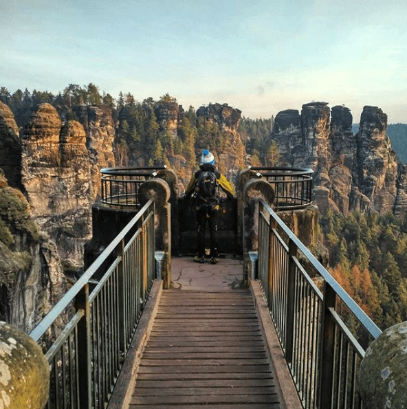 Even if you only have time to see the Bastei Bridge, it's worth it for one really great Instagram photo.