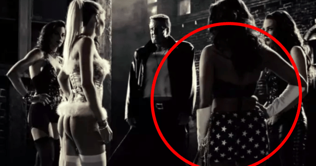 "One of ""The Girls of Old Town"" is dressed as Wonder Woman in Sin City."