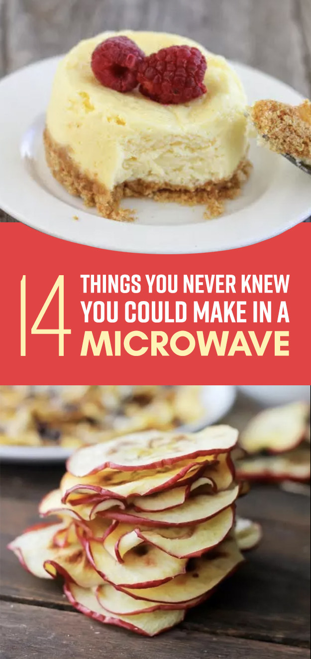 never knew you could cook in the microwave