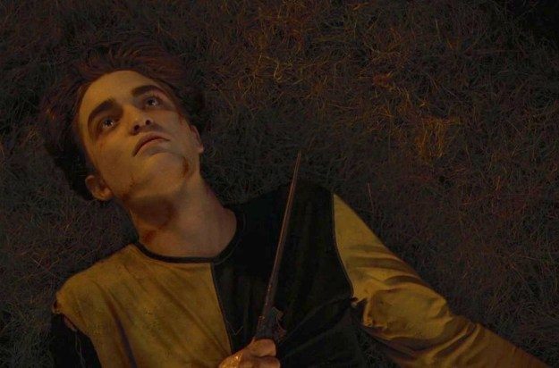 But then, of course, Cedric died. RIP hot Cedric, no more hopping out of trees for you.