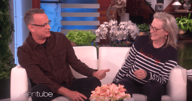Because they're currently promoting the movie, we are being blessed with some truly excellent moments, like the two of them being interviewed on Ellen.