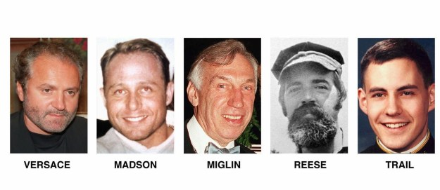 Versace was the final victim in a string of cross-country murders Cunanan committed from April through July 1997.