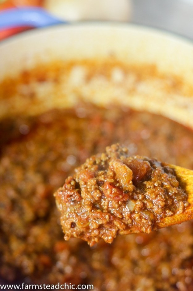 8-Ingredient Chili