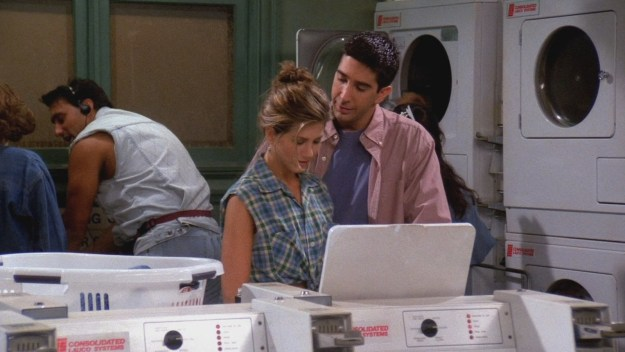 The fact that Ross had to teach Rachel how to do her laundry.