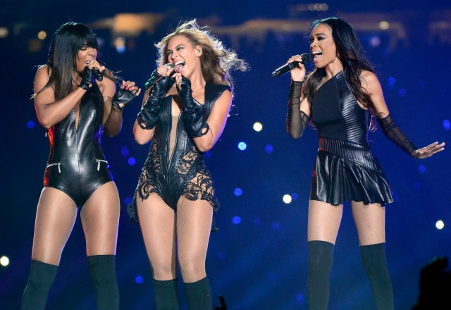 Feb. 3, 2013 — Destiny's Child at Super Bowl XLVII in New Orleans