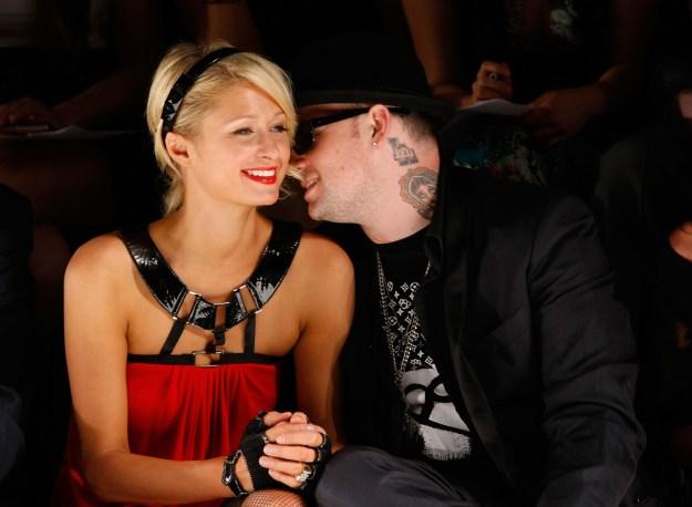 2008: Remember when Paris Hilton dated Benji Madden?