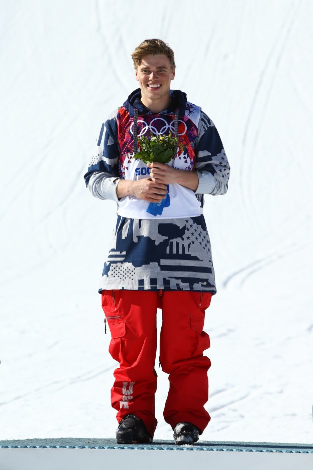 Let's start with this picture of him and his silver medal.