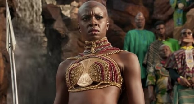 But let's not forget about Danai Gurira's character Okoye, the trusted General of Armed Forces for the royal family of Wakanda.