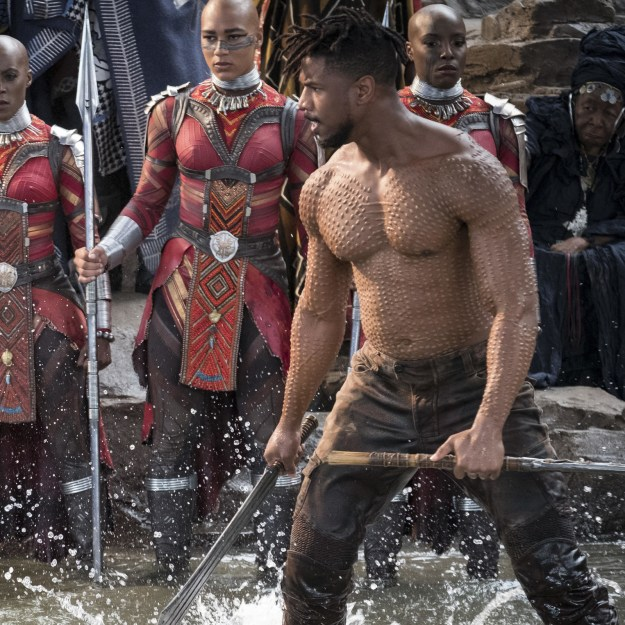 We've always known he's a a snack and a half, but Killmonger just reignited that deep, DEEP hunger.