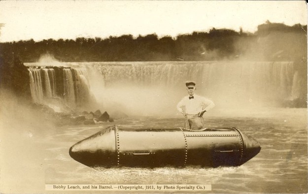 The second man to ever go over Niagara Falls in a barrel died by slipping on an orange peel.