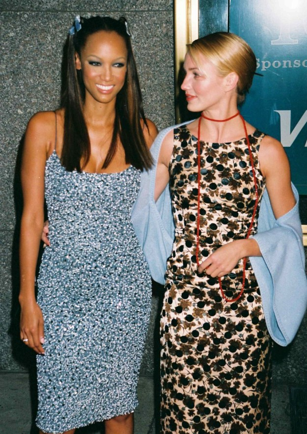 Tyra Banks and Cameron Diaz at the GQ Men of the Year Awards: