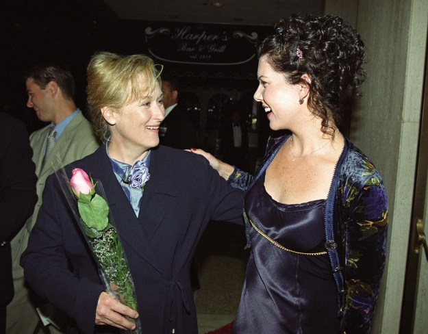 Meryl Streep and Lauren Graham at the One True Thing premiere: