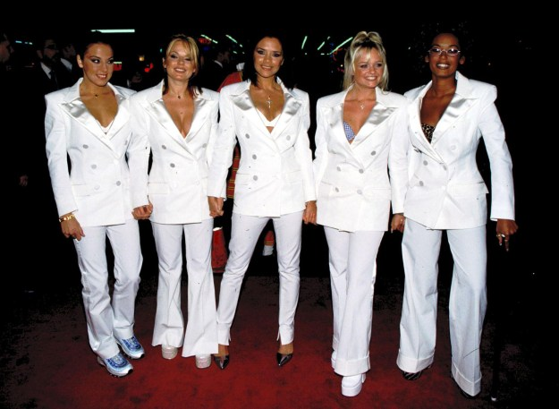 The Spice Girls at the Hollywood Spice World premiere: