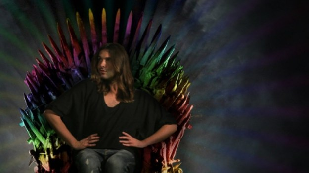 When I learned he has his own EMMY 👏 FECKING 👏 NOMINATED 👏 Funny Or Die show called Gay of Thrones!!!