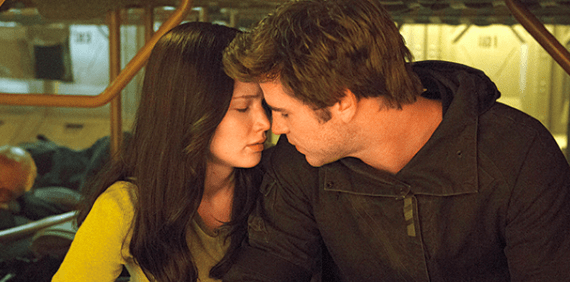 Katniss and Gale (The Hunger Games)