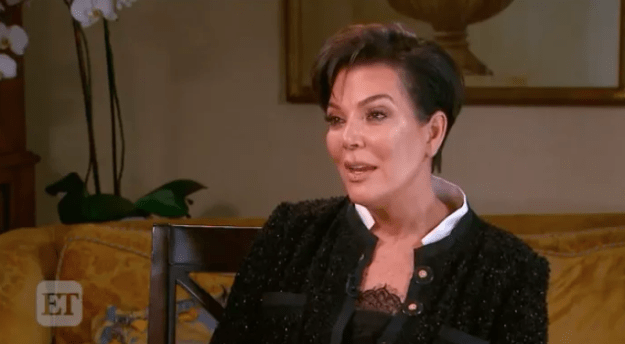 """Anyway, back to Kris Jenner, who was basically the queen of teasing the news. She did another interview where she spoke about Kylie and Khloé, who was also revealed to be pregnant. Speaking about Kylie, she said that she was proud of Kylie's """"strength"""" when it came to dealing with """"everything she has going on""""."""