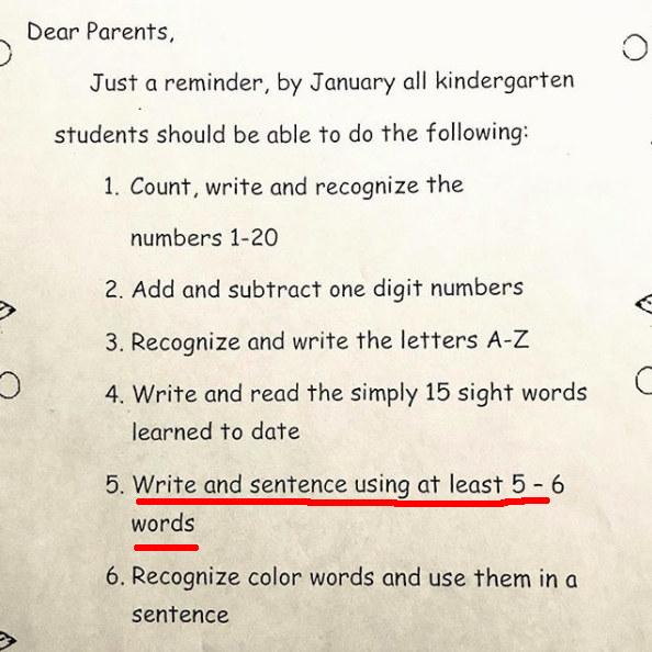 This teacher had a hilariously ironic fail: