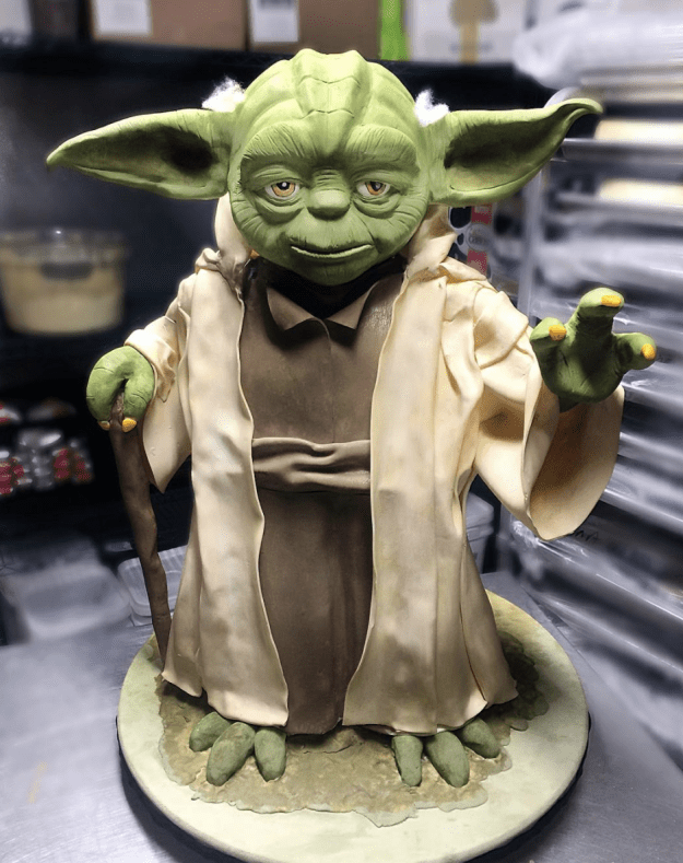 While this Yoda honestly looks better than the real one: