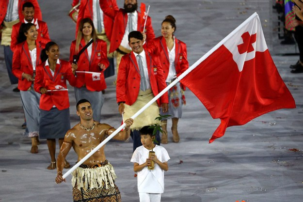 You might recall that during the 2016 Olympic parade of nations, there was a major stand-out from the nation of Tonga.