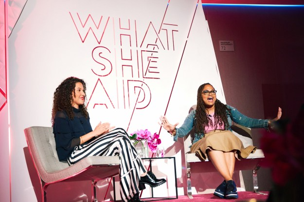 """During a """"What She Said"""" event celebrating A Wrinkle In Time, femininity, and gender equality, which BuzzFeed attended, Ava told a story about Oprah that """"changed [her] life."""""""