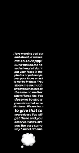 Well on Sunday, Ariana posted a mesage to her Insta story, addressing this.