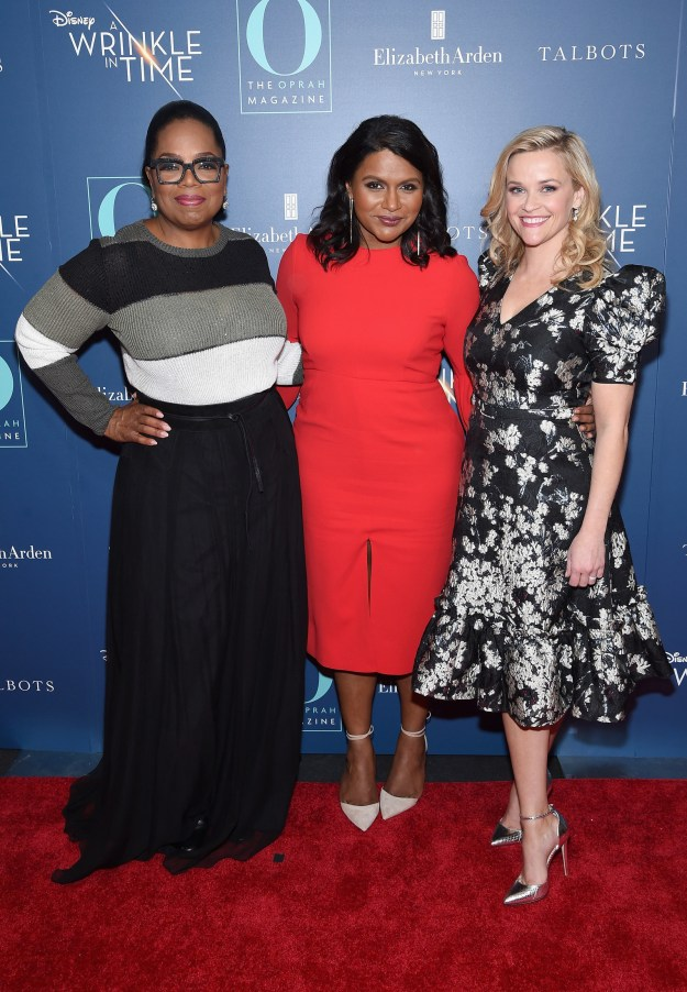 In case you've somehow missed it, the cast of A Wrinkle in Time is a truly iconic group of people, including Oprah Winfrey, Mindy Kaling, and Reese Witherspoon.