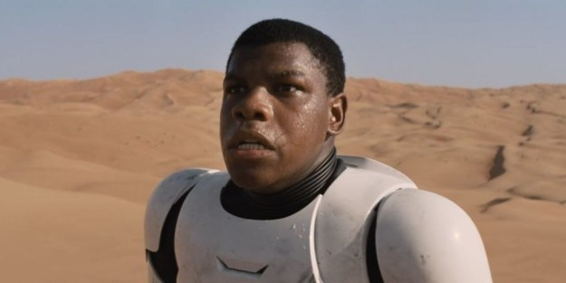 When he became the first attractive stormtrooper known to man:
