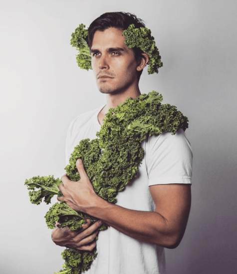 """We're all in love with Antoni, so take a minute and quench your thirst with """"Antoni From Queer Eye Posing With Food Will Make You Hungry AND Thirsty."""""""