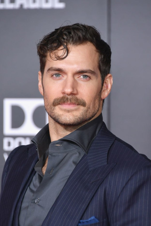 It's also a fact that most people started to fancy Henry during his moustache / Justice League peak. I mean, you can't blame them.