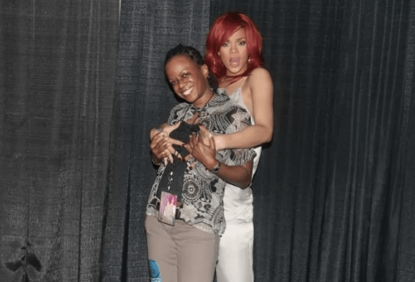 Is there anything better than a Rihanna meet and greet?