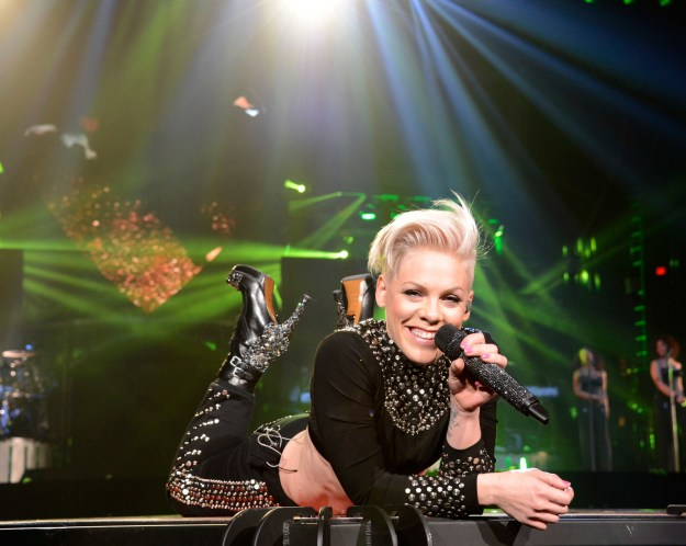 You know Pink: she's the badass, fearless, wonderful, talented, [insert 1000 other adjectives here] singer that we all love.