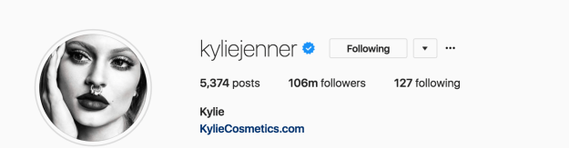 In subverting the Kardashians' tried and tested model, Kylie has seen her popularity soar. Since December she's amassed a further 6 million followers, and the photos Kylie has shared since becoming a mother are now some of the most liked Instagram posts of all time.