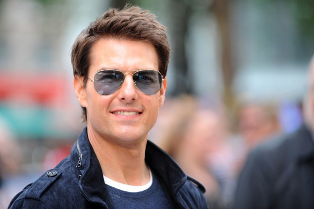 NOT COOL: Tom Cruise