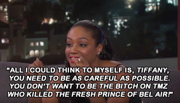 When she took Will Smith and Jada Pinkett Smith to a swamp tour and had this hilarious thought.