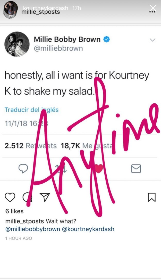 And if so, will Kourtney teach MBB her superior salad-shaking skills?