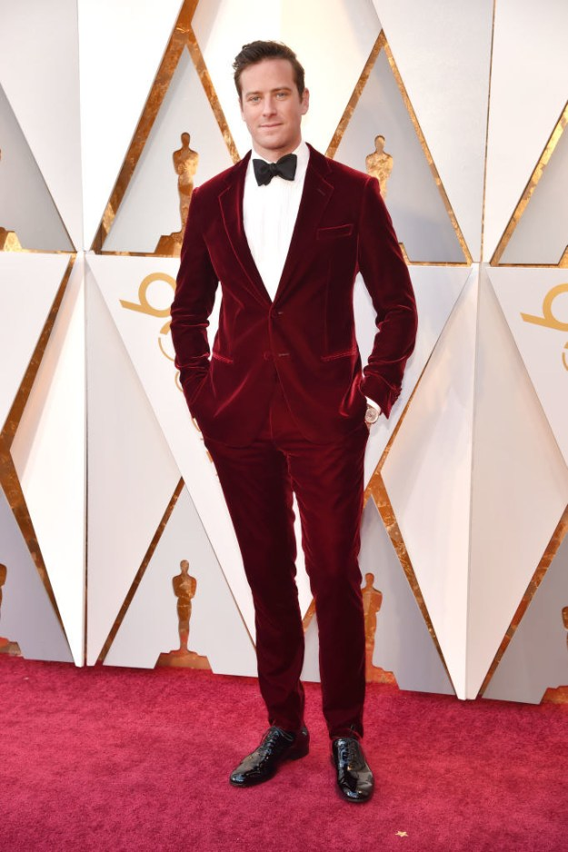 Oh, and BTW, Armie looked 💯 on the red carpet. Have fun!